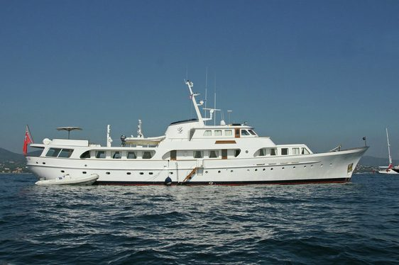 classic yacht Secret Life cruising on a Mediterranean yacht charter