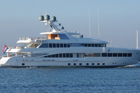 Feadship Superyacht ROCK.IT Completes First Sea Trials