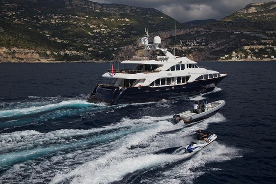 Benetti Superyacht 'African Queen' Has Primetime Availability in France