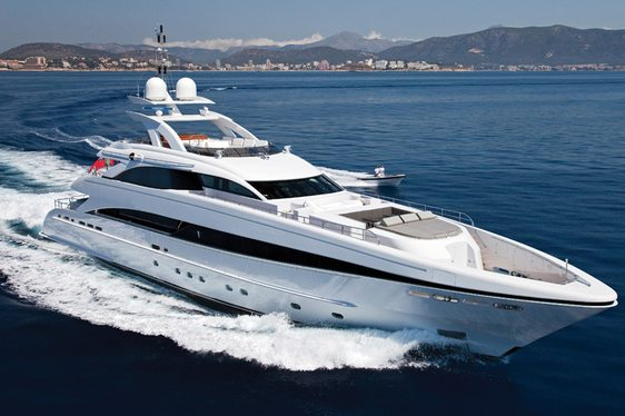 Luxury Yacht JEMS Open for Charter in the Balearics
