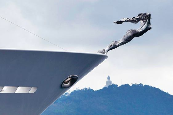 Titania Yacht Mascot