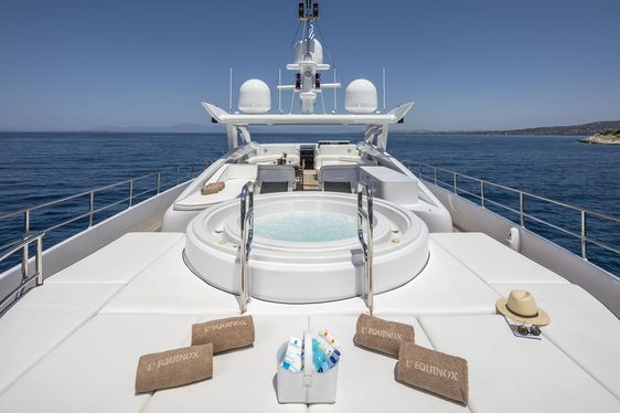 Heesen Superyacht L'EQUINOX Joins the Greek Charter Fleet