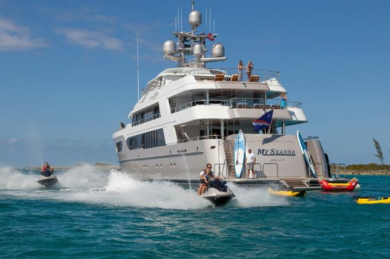 Superyacht 'My Seanna' Open For Monaco Grand Prix Charter