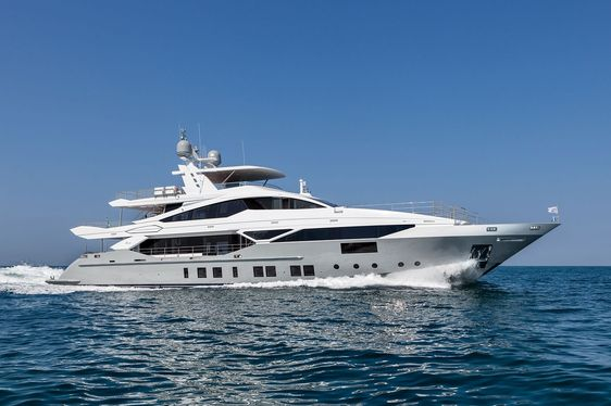 Benetti Superyacht H New to Charter Market