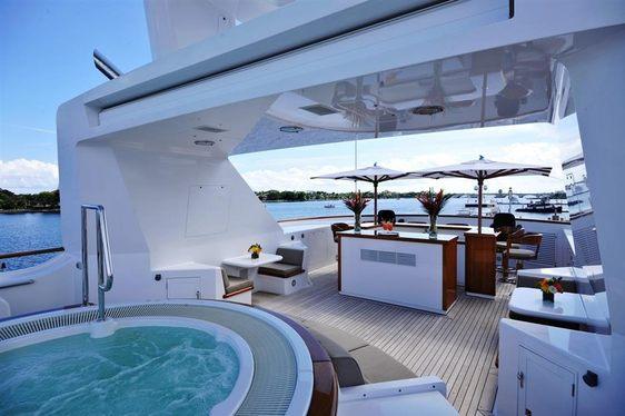 Superyacht GRAVITAS Attending Fort Lauderdale International Boat Show 2015