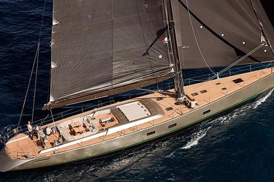 Sailing Yacht Dark Shadow Available for Charter