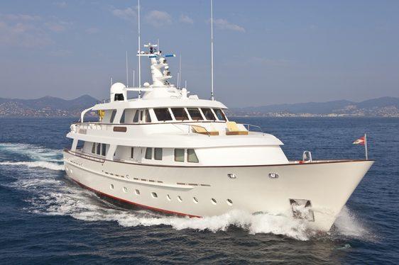 Last Minute Availability on Charter Yacht CORNELIA