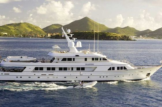 Charter yacht CHARISMA in the Mediterranean