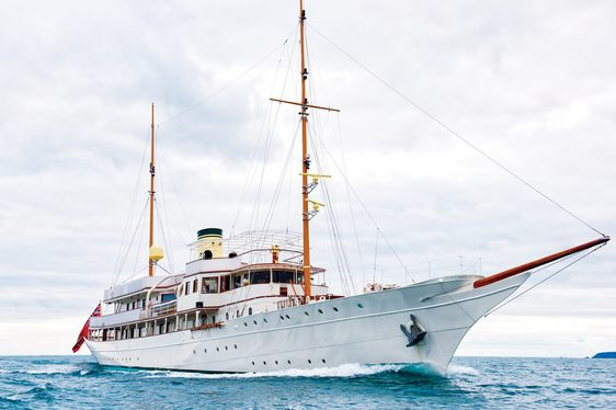 Classic yacht 'Haida 1929' to charter in the Mediterranean this summer