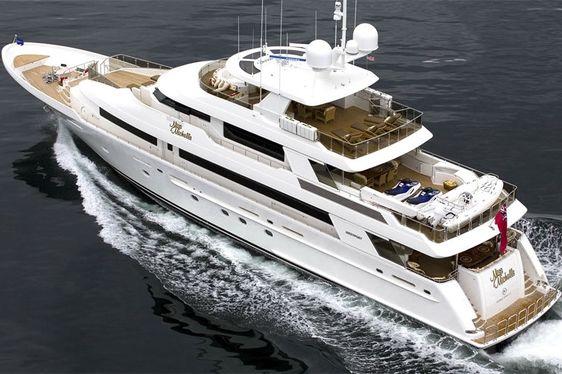 Motor Yacht 'MISS MICHELLE' Renamed 'MILK MONEY'