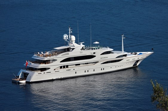 Superyacht MEAMINA Available to Charter in Greece in July