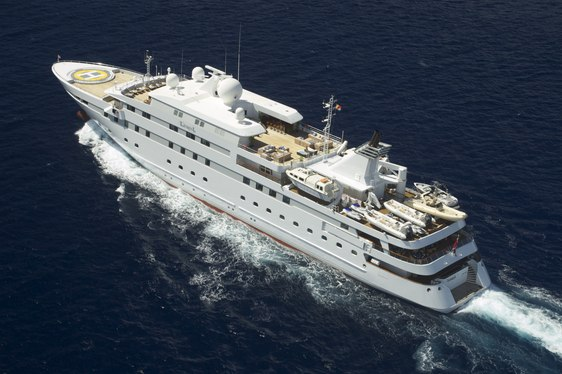 Superyacht 'Lauren L' Open in July for Italian Charter