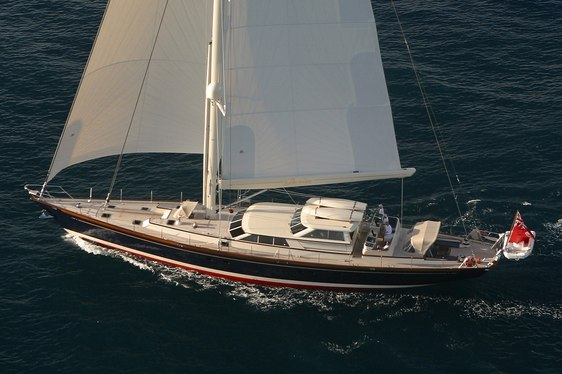 Chater yacht Marae sailing in Chesapeake Bay