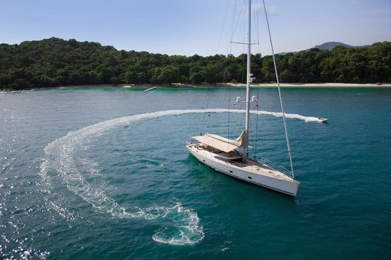 Sailing Yacht ZEFIRO Looking for Seychelles Charters over Winter Season