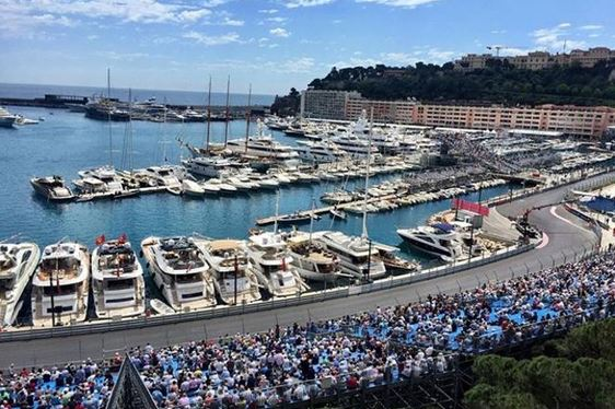 Charter Yachts Make Up The Majority At The Monaco Grand Prix 2016