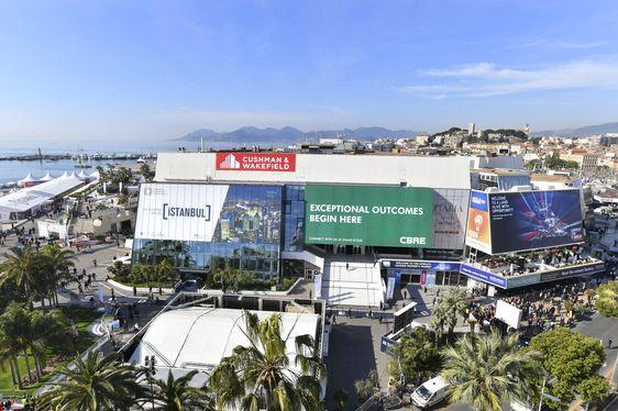 Palais des Festival in Cannes hosting MIPIM