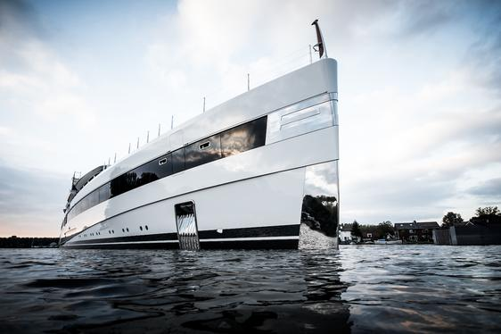 New 93m Feadship superyacht 'Lady S' launched over the weekend