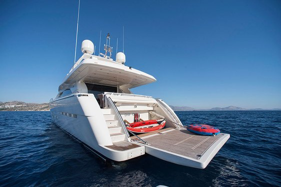 Superyacht 'Day Off' Open For Charter In Mykonos