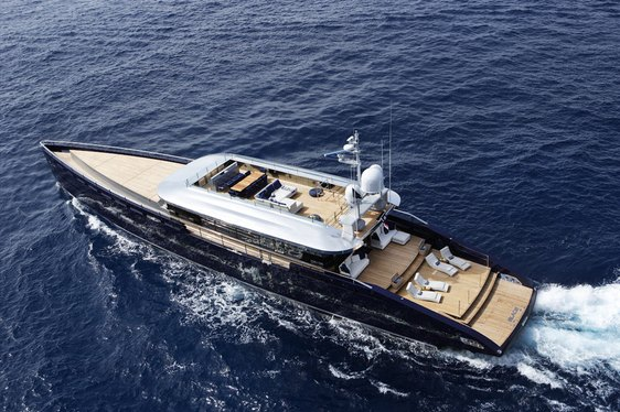 Charter yacht BLADE attends Cannes Yachting Festival 2018