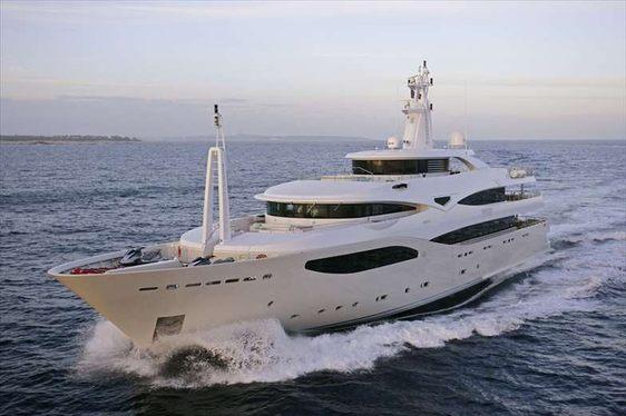 MARAYA cruising in the Mediterranean