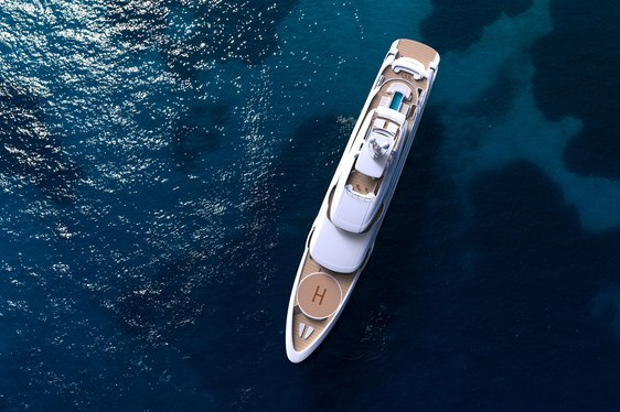 New video paints a picture of tranquility on board superyacht O'PTASIA