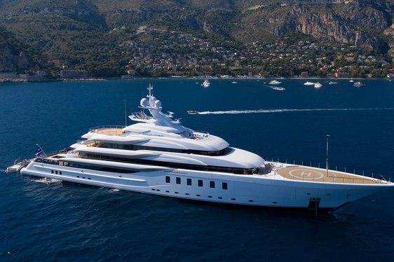 MADSUMMER yacht in the Mediterranean
