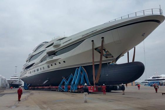 Benetti Gets Set to Deliver 90m Superyacht LIONHEART