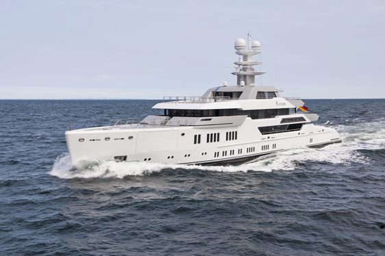 Lürssen Superyacht 'Ester III' (Project Green) Completes Sea Trials