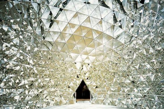 Swarovski Crystal Worlds in Wattens, Austria