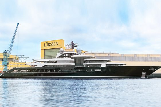 Superyacht 'Project Thunder' Launched By Lurssen