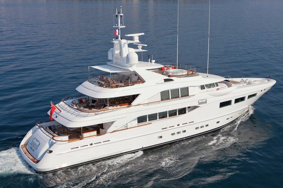 Superyacht SNOWBIRD Renamed REVELRY and Available for Charter
