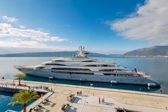 Superyacht 'Ocean Victory' in Montenegro