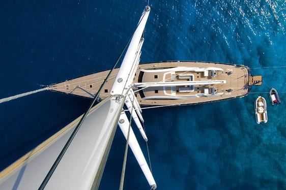 Sailing Yacht ARISTARCHOS Rejoins Global Charter Fleet