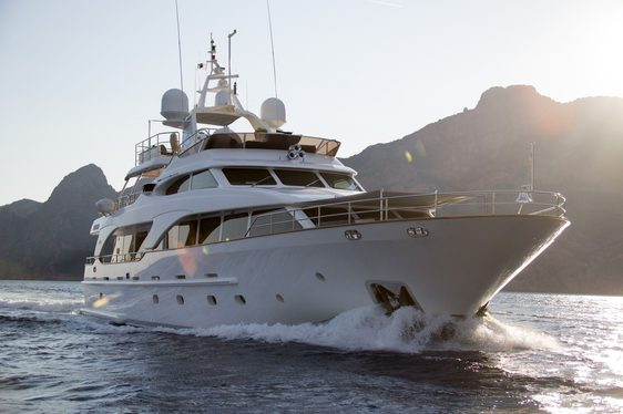 motor yacht SALU cruising on charter in the Mediterranean