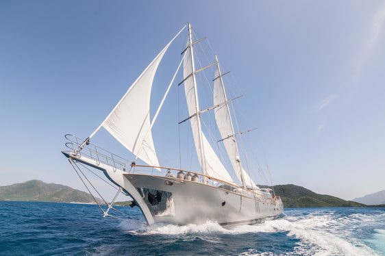 Sailing Yacht 'Silver Moon' Available for All-Inclusive Turkey Charter