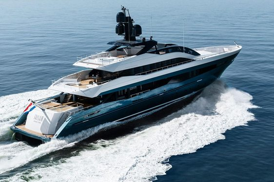 Heesen delivers brand new charter yacht IRISHA