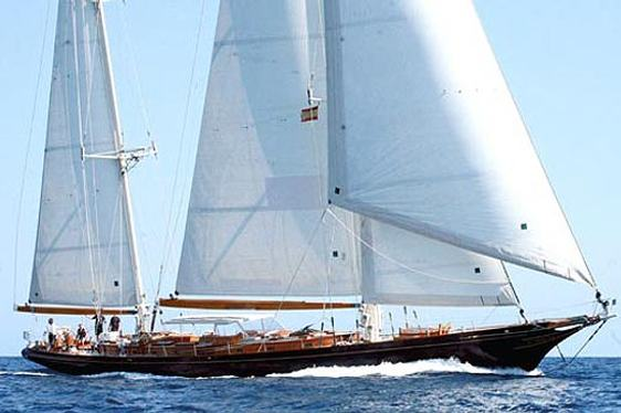 Charter yacht Signe sailing in the West Med