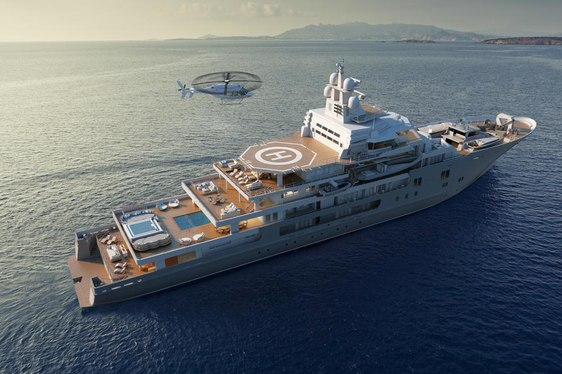 Is This The Largest Yacht To Attend The Monaco Yacht Show Ever?