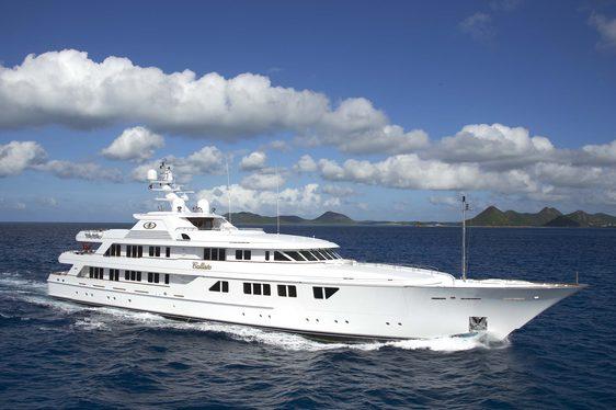 Superyacht CALLISTO now available for Caribbean charter