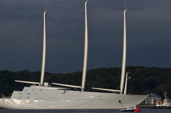 VIDEO: Sailing Yacht A (ex White Pearl)'s First Sea Trials