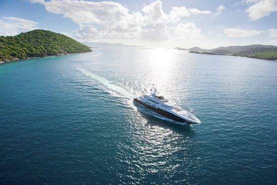 Charter yacht 4YOU cruising in the Mediterranean