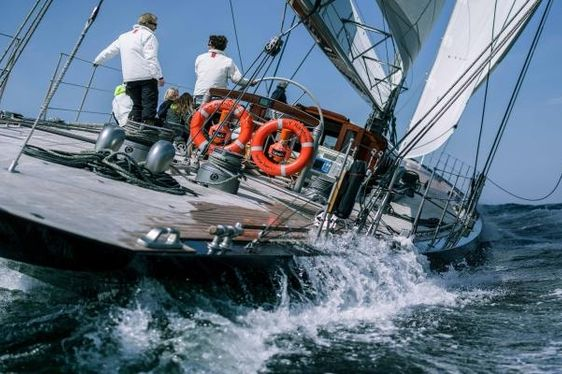 VIDEO: The Regatta Experience on board J-Class Superyacht RAINBOW
