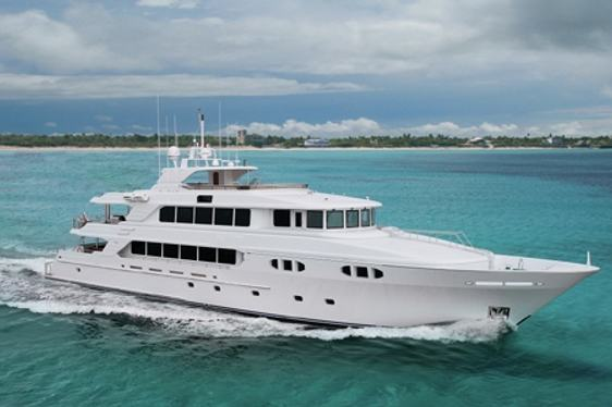 Charter yacht EXCELLENCE cruising in the Caribbean