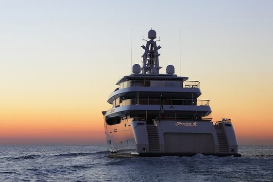 Superyacht 'Grace E' to Attend Monaco Yacht Show 2014