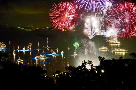 Superyachts Flock to St Barts For New Year's Eve 2016