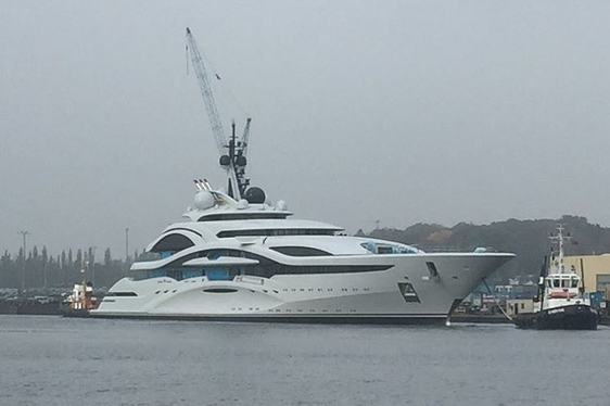 Video: Superyacht 'Project Jupiter' Launched By Lurssen