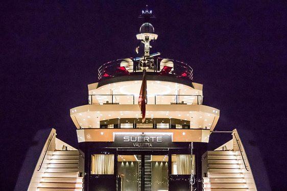 Superyacht SUERTE Breaks Charter Record