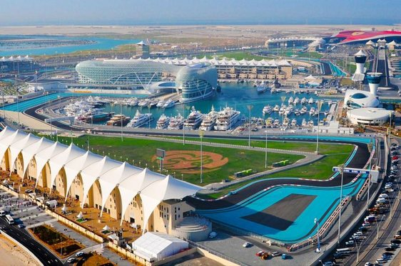 Oceanco Superyacht 'Indian Empress' Opens for Charter at Abu Dhabi Grand Prix