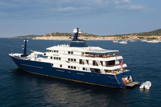 Superyacht 'Force Blue' Still Available for Charter
