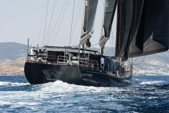 sailing yacht Rox Star cruising on charter in the Caribbean
